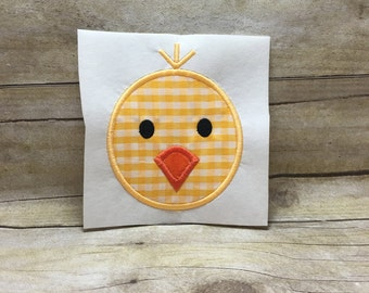 Chick Embroidery Applique, Chick Applique, Chick Embroidery Design