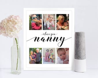 Mother's Day Photo Collage Print Compact / Instagram Collage Print