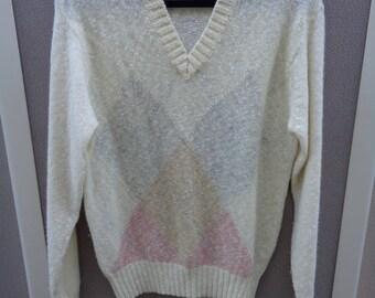 Pringle Men's 1980's V-Neck Sweater