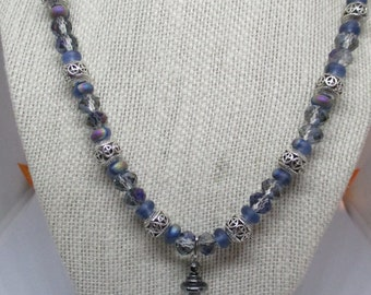 Beads and Pearl Necklace