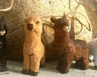 Alpaca Christmas Ornaments - Set of 4 - A Whole Herd!