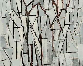 Piet Mondrian Composition Trees II, c.1912-13
