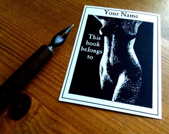 Erotic Ex Libris 50 Personalized Booklabels Bookplates
