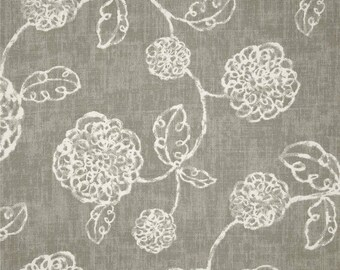 Adele Slate, Magnolia Home Fashions - Cotton Upholstery Fabric By The Yard