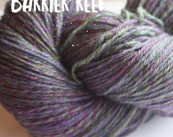Elements Collection - Col Barrier Reef Blue 4 ply supersoft 100% Merino