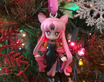 Black Lady from Sailor Moon Holiday Christmas Ornament