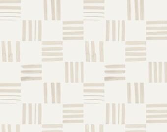 Check Linen - Printed Cotton Fabric