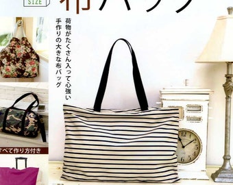 Big Size Fabric Bags - Japanese Craft Book MM