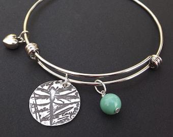 Silver Dragonfly Bangle Bracelet, Dragonfly charm bracelet, Silver Dragonfly gift, Dragonfly Lover bracelet, Dragonfly Lover gift