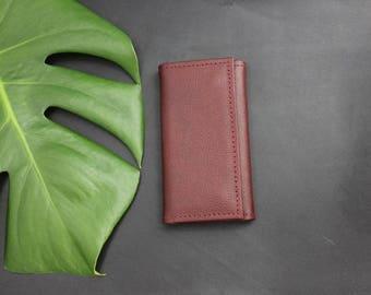PDF Leather key holder, PDF Leather key case, Leather key ring, Leather key chain, Personalised keyring, Leather key fob, Leather Key Pouch