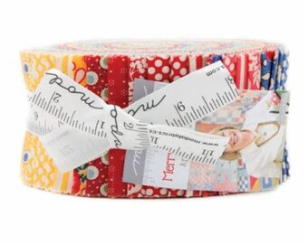 Merry Go Round Jelly Roll by American Jane Patterns Sandy Klop for Moda