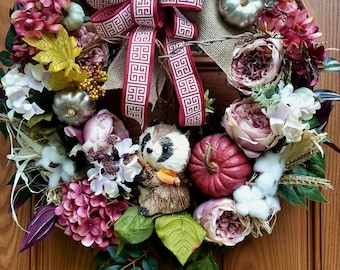 Fall front door wreath,Autumn Fall Wreath, Winter Fall wreath,Winter wreath, Fall Wreath, Front door wreath, Welcome wreath, Fall decor,Fall