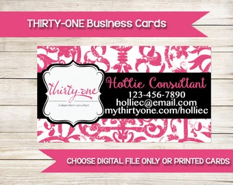 THIRTY-ONE | Business Cards | Custom | Printed | Direct Sales