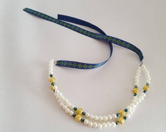 Fancy Dog Pearl Collar