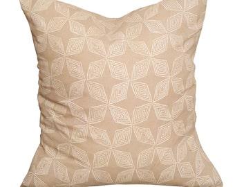 Tan Triangle Pillow