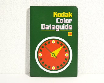 Kodak Color Dataguide- Darkroom Color Printing Book with Development Computers, Film Photography Guide