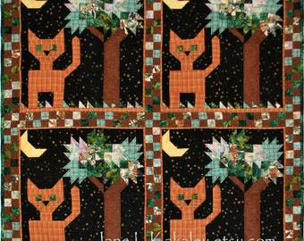 Quilt Pattern - Did You Put the Cat Out