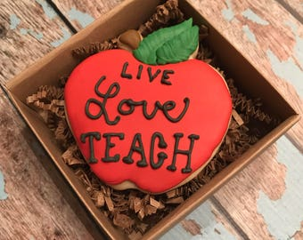 Back to School Cookie