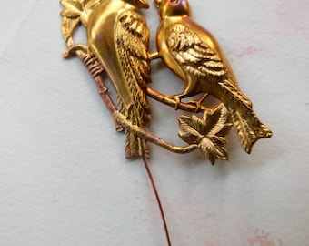 Lovebirds on a Wire ( 1pc)