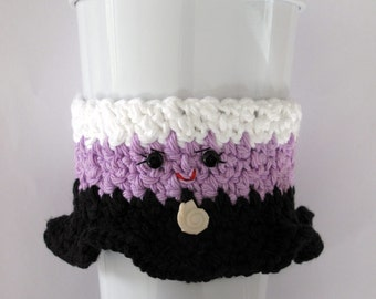Crochet Ursula Coffee Cup Cozy