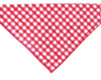 Checkered Pet Bandana with Release Buckle