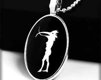 Depeche Mode WIMS pendant cabochon necklace