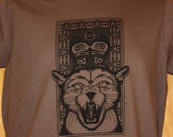 PNW Cougar Organic Cotton T-Shirt