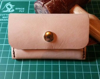 Leather Card Holder Coin Money Purse
