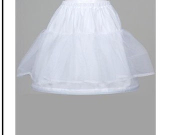 Petticoat Underskirt Full Length for Communion Dresses