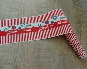 Custom paper - planes Theme table runner