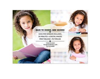 Photography Mini Session Photoshop Template 004