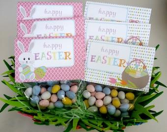 Pastel bean bag etsy easter favor bags gift bags digital download egg hunt easter brunch goodie bags negle Choice Image