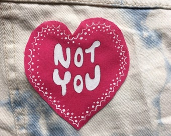 Not You Sew-On Patch