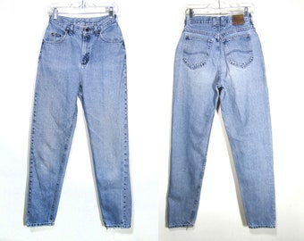 28x34 | 90s Lee Original Jeans / 90s Lee Riders / Lee mom jeans / vintage mom jeans / 90s mom jeans / vintage high waist jeans / 90s jeans