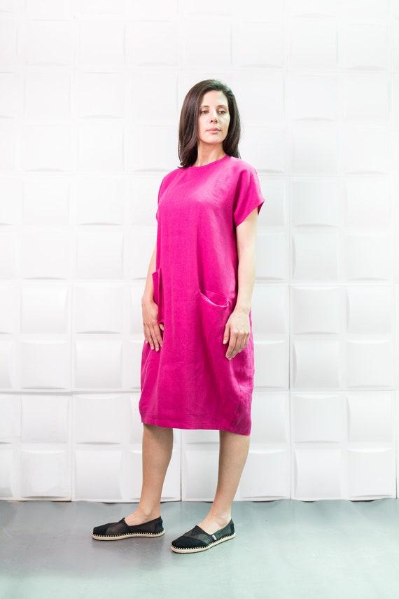 Linen Dress Linen Overalls Linen Linen Tunic Plus Size