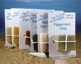 Soap Samples / Shampoo Bars, Party Favor Soap, Travel Soap, Mini Soap, Trial Size, Soap Assortment, Guest Soap, Grab Bag, Soap Gift