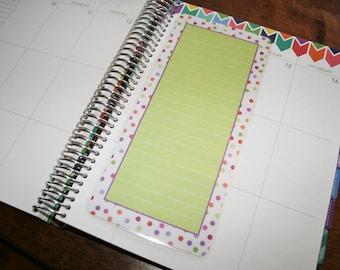 Coil Clip In Laminated Dashboard / Erin Condren, Limelife, Plum Paper Planner