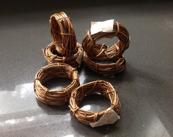 Mini wreaths for crafting (6)