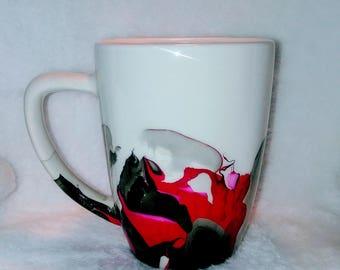Marbled coffee mug, tea mug, gift mug