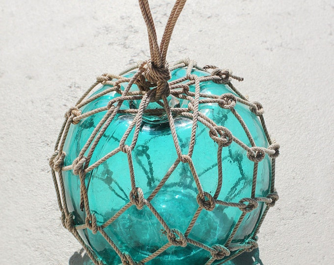 """Nautical Fishing Float Emerald 9.5"""" by SEASTYLE"""