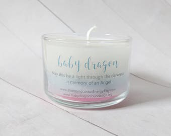 Remembrance Candle, Infant Remembrance, Infant Loss, Miscarriage, Condolence Gift, Sympathy Gift, Memorial Candle, Neonatal Loss, Baby Loss