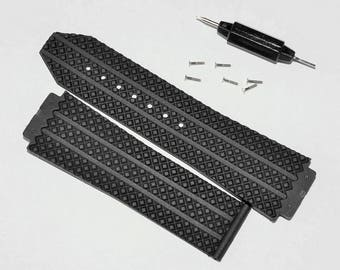 HUBLOT rubber band 25mm x 18mm, 25mm x 16mm,  H BIG BANG strap 45mm, gift for men, father's day, birthday gift