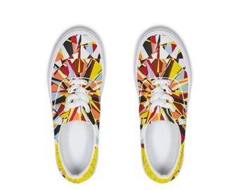 Ankara/African print shoe Sika-R