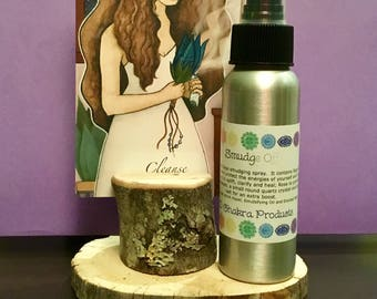 Smudge Off Clearing Mist / Mind Body and Spirit / Aura Clearing Spray / Sage / Smokeless / Energy Healing
