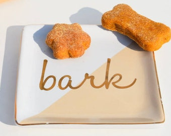 Bark Bites!  Bite Size 'Peanut Butter Free' Dog Treats, Dog Cookies