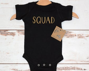 Squad Baby Baby Bodysuit, Baby shower gift, First birthday, Baby gifts, Baby shirt, Baby Outfits, New Baby, Baby Bear Bodysuit