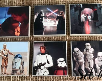 Star Wars Tile Magnets
