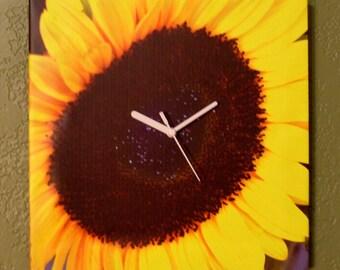 Sunflower Photo Clock