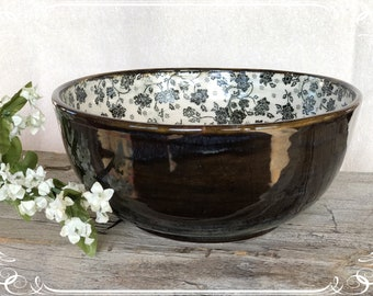 Cottage Floral Bowl