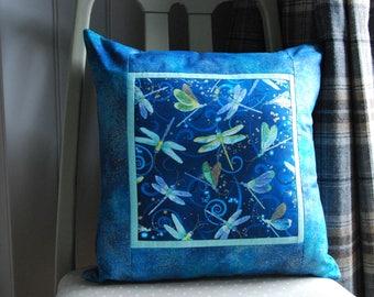 Dragonfly Cushion, Dragonfly Themed Cushion, Mums Cushion, Dragonfly Pillow, Cushion, Pillow, Grandmas Cushion, Cushion Cover, Dragonfly